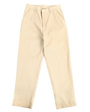 DRJ School Uniforms - Boys Flat Front Khaki Pants (16-20)