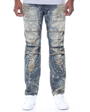 Men - Vintage Knee Detail Ripped Jeans