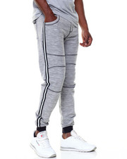 Jeans & Pants - French Terry Jogger Tape Trim