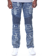 Jeans & Pants - Vintage Motto Acid Wash Jeans