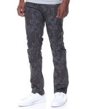 Jeans & Pants - Coated Ripped Knee Jeans