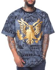 Men - S/S Eagle Print Tee (B&T)