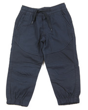 Arcade Styles - Stretch Twill Moto Jogger (2T-4T)