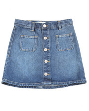 Levi's - High Rise  Button Front Skirt (7-16)