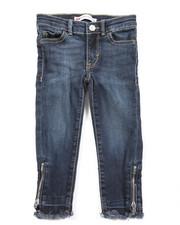 Levi's - 710 Zipper Super Skinny Ankle Jean (2T-4T)