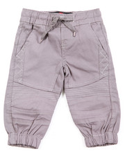 Infant & Newborn - Stretch Twill Moto Jogger (Infant)