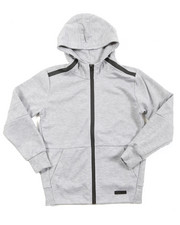 Boys - L/S Tech Fleece Full Zip Hoodie (8-20)