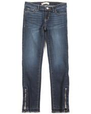 Jeans - 710 Zipper Super Skinny Ankle Jean (7-16)