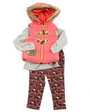 Hello Kitty - 3 Piece Vest Long Set (2T-4T)