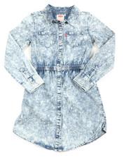 Levi's - L/S Fit/Flare Dress (7-16)