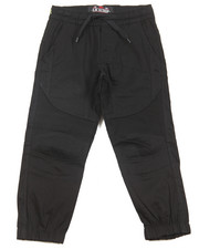 Pants - Stretch Twill Moto Jogger (4-7)
