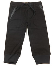 Bottoms - Stretch Twill Jogger (2T-4T)