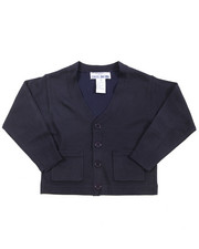 DRJ School Uniforms - Boys V-neck Cardigan Sweater