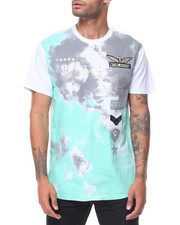Shirts - Tie Dye Patch Printed Tee