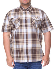 Men - Yarn Dyed Plaid S /S Woven (B&T)-2127079