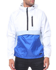 Men - Hooded Anorak Jacket