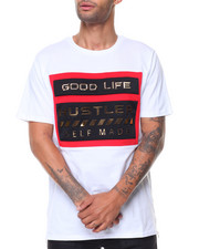 Men - Good Life Hustler Solid S/S Tee