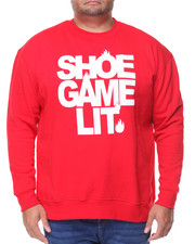 Men - L/S Shoe Game Lit Sweatshirt (B&T)