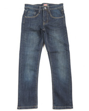 Boys - Fashion Stretch Embroidery Jeans (8-20)