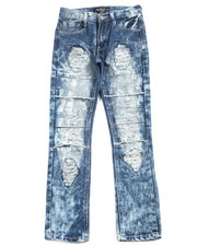 Bottoms - Cut Knee Jeans (8-20)
