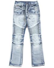 Sizes 8-20 - Big Kids - Fashion Moto Jeans (8-20)