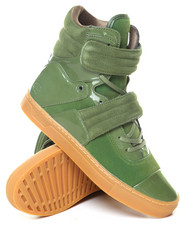 Radii Footwear - Cylinder Moss Patent Gum High Top Sneakers-2129608