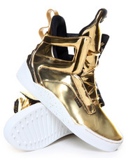 Radii Footwear - Prism 24K Gold Bar Metallic High Top Sneaker