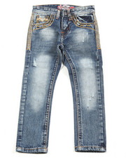 Arcade Styles - Premium Thick Stitch Embroidery Jeans (4-7)