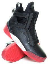 Radii Footwear - Black Red Alert Prism High Top Sneaker