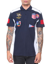 Polos - S/S Multi-Patches Headsail Polo