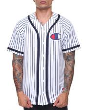 Champion - Verticle Pinstripe Baseball Shirt