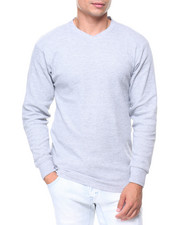 Buyers Picks - Solid L/S V-neck Thermal Top