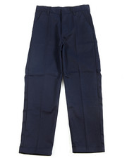 DRJ School Uniforms - Boys Flat Front Navy Pants (8-14)