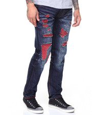 Straight - 2-Tone Jeans