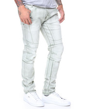 Straight - Snowash Knee Treatment Jeans