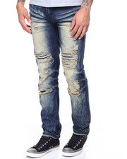 Straight - Distressed Jeans