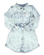 Levi's - L/S Fit/Flare Dress (4-6X)