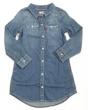 Dresses - L/S Western Dress (4-6X)