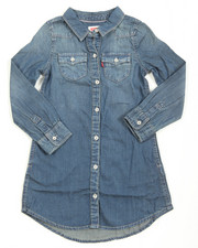 Girls - L/S Western Dress (4-6X)