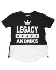 T-Shirts - Legacy Raglan Sleeve Elongated Tee (4-7)