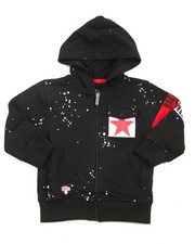 Born Fly - Loopback Full Zip Hoody (2T-4T)