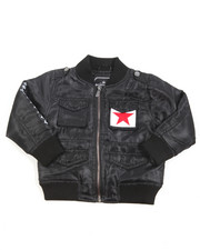 Born Fly - Lightweight Twill Bomber Jacket (2T-4T)