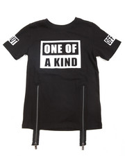 Akademiks - One Of A Kind Zip Trim Tee (8-20)
