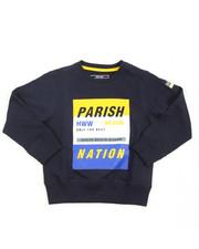 Sweatshirts & Sweaters - Parish City Blocks French Terry Sweatshirt (4-7)