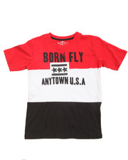Born Fly - Pieced Color Block Tee (8-20)