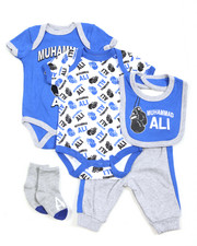 Boys - 5 Piece Short Set (Infant)
