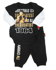 Boys - Bodysuit & Pant Short Set (Infant)