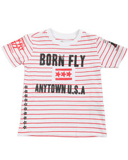 Born Fly - Yarn Dyed Tee (2T-4T)