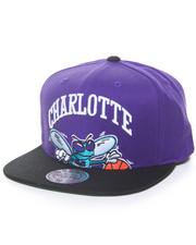 Men - Cropped XL Logo Charlotte Hornets Hard Wood Classic Snapback