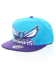 Mitchell & Ness - Cropped XL Logo Charlotte Hornets Snapback